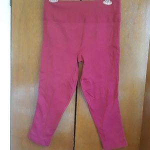 Lululemon athletica cranberry Leggings size 12
